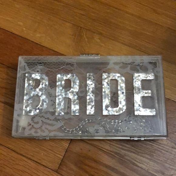 166072097f3b Aldo bride clutch handbag
